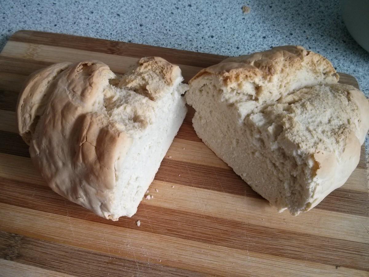 Der erste Brotbackversuch Juni 2014