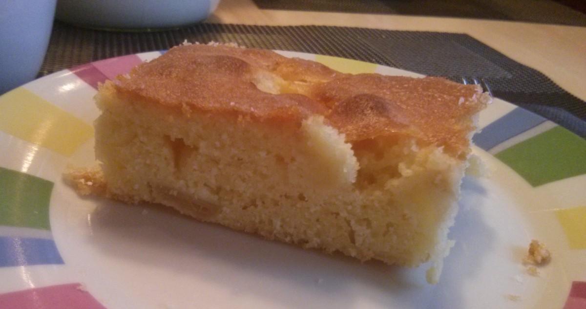 Belgischer Apfelblechkuchen