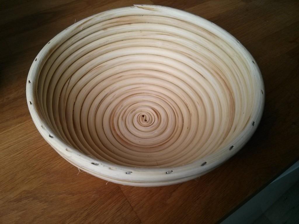 Gärkorb aus Peddigrohr von Masterproofing, 22cm